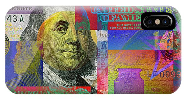 New Pop-colorized One Hundred Us Dollar Bill IPhone Case