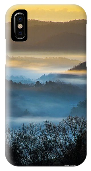 New River Fog IPhone Case