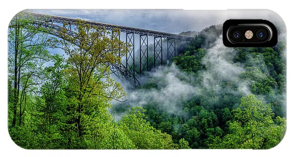 New River Gorge Bridge Morning  IPhone Case