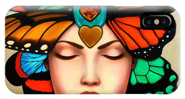 Soulful iPhone Case - New Vision by Helena Rose