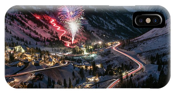 New Year's Eve At Snowbird IPhone Case