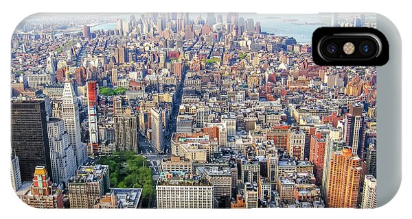 New York Aerial View IPhone Case