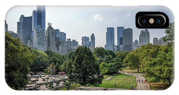 New York Central Park With Skyline IPhone Case