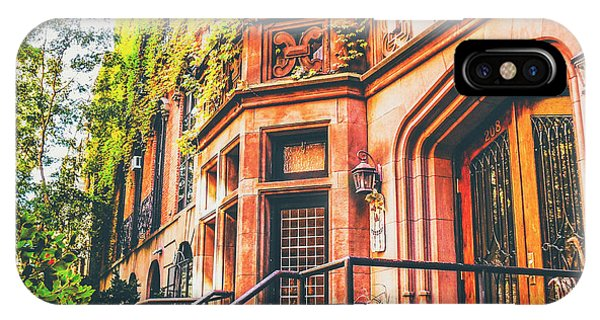 Brownstone iPhone Case - New York City Autumn by Vivienne Gucwa