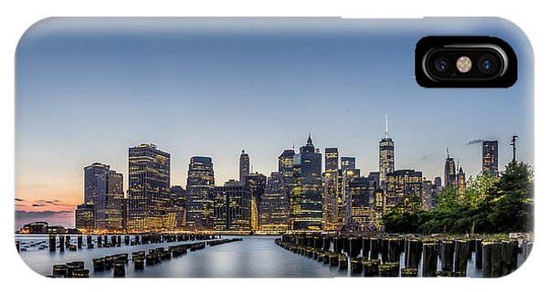 New York City Dusk IPhone Case