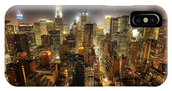 New York City Night IPhone Case