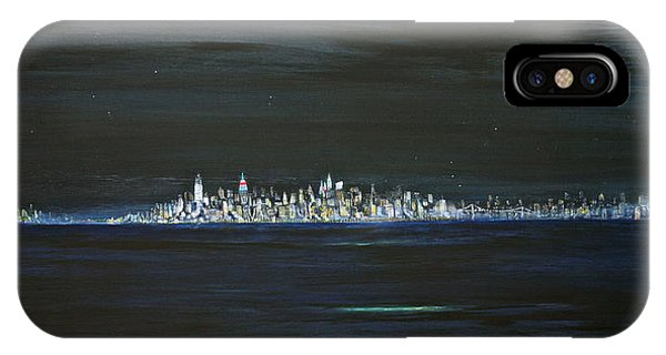 New York City Nights IPhone Case