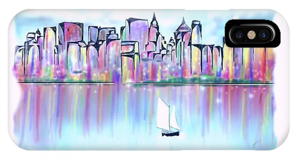 New York City Scape IPhone Case
