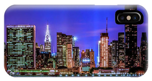 IPhone Case featuring the photograph New York City Shine by Theodore Jones