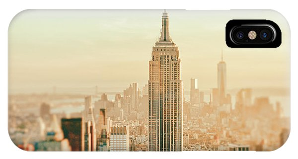 City Sunset iPhone Case - New York City - Skyline Dream by Vivienne Gucwa