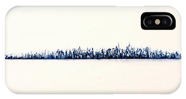 Manhattan Skyline iPhone Case - New York City Skyline by Jack Diamond