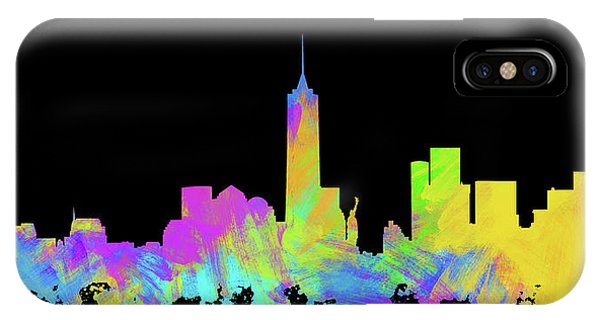 New Trend iPhone Case - New York City Skyline Silhouette Vi by Ricky Barnard