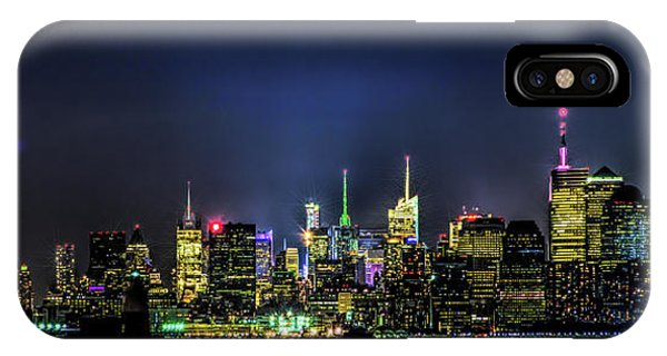 IPhone Case featuring the photograph New York City Skyline by Theodore Jones