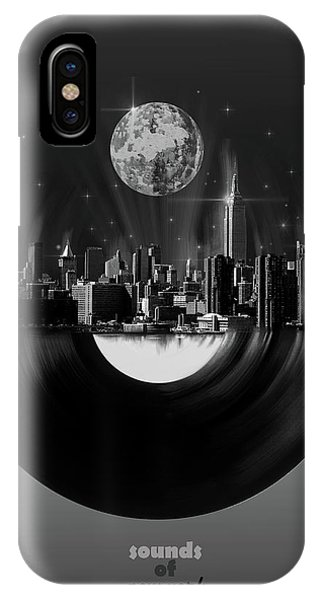 Empire State Building iPhone Case - New York City Sound 5 by Bekim M
