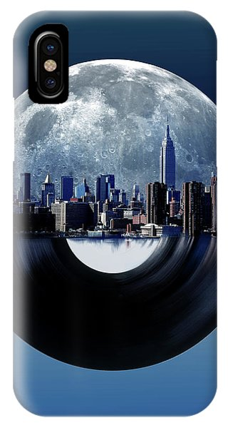 Empire State Building iPhone Case - New York City Sound 6 by Bekim M