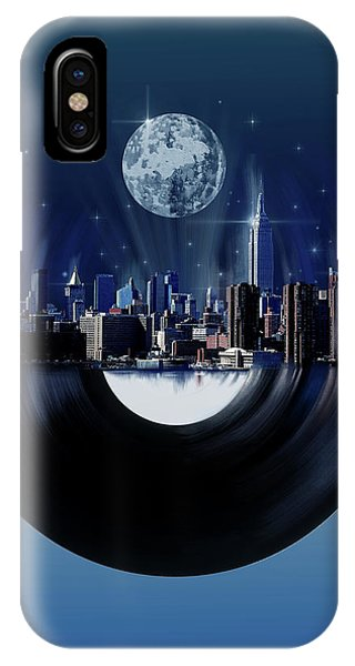 Empire State Building iPhone Case - New York City Sound 7 by Bekim M