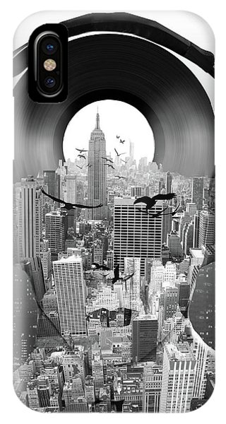 Empire State Building iPhone Case - New York City Sound by Bekim M