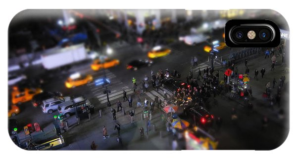 New York City Street Miniature IPhone Case