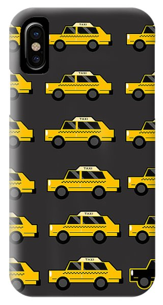Light Speed iPhone Case - New York City Taxi by Art Spectrum