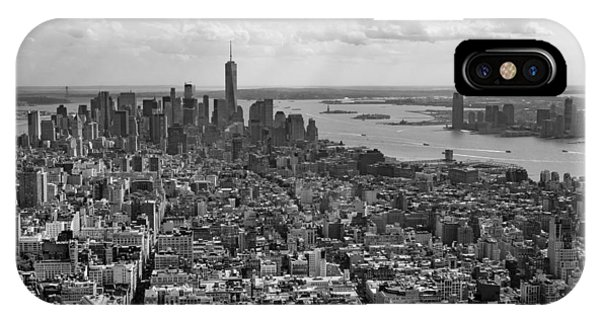 New York City - View From Empire State Building IPhone Case