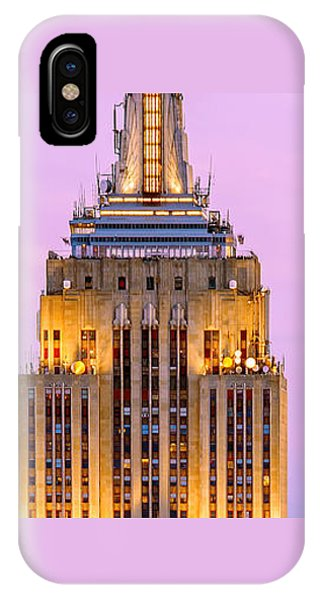 Building iPhone Case - New York Giants by Az Jackson