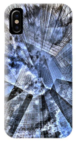 New York Iris Collage IPhone Case