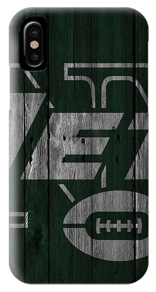 New York Jets Wood Fence IPhone Case