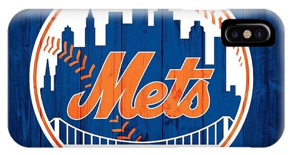 New York Mets iPhone Case - New York Mets Barn Door by Dan Sproul