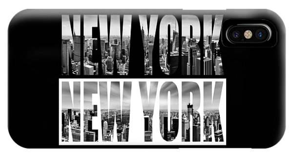 Empire iPhone Case - New York New York by Az Jackson