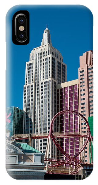 New York New York Hotel Phone Case by Andy Smy