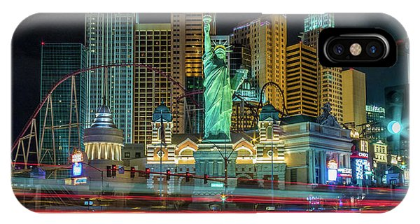 IPhone Case featuring the photograph New York New York by Michael Rogers