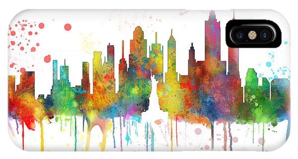 New York Ny Skyline IPhone Case