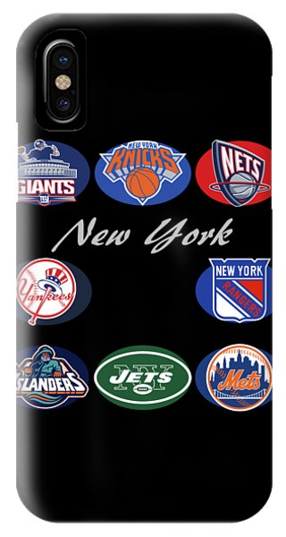 New York Professional Sport Teams Collage  IPhone Case