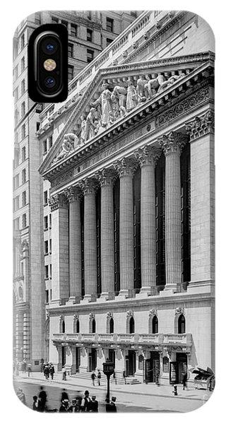 New York Stock Exchange Circa 1904 IPhone Case