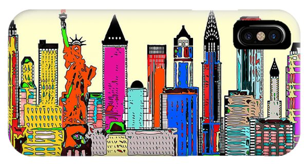 New York - The Big City IPhone Case