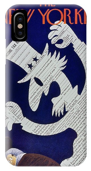 New Yorker April 11 1959 IPhone Case