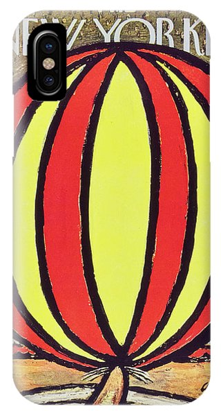 New Yorker April 12 1958 IPhone Case