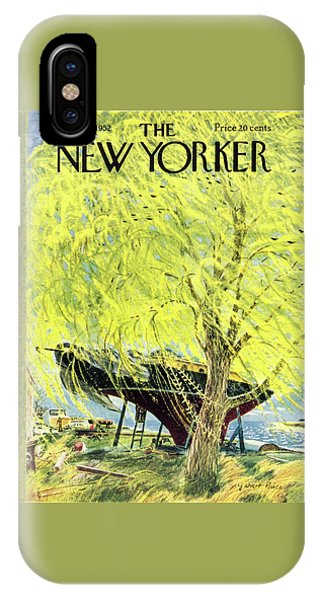 New Yorker April 26 1952 IPhone Case