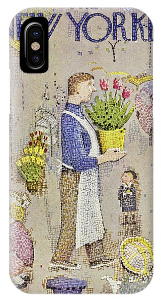 New Yorker April 5 1958 IPhone Case