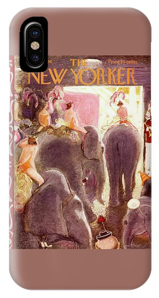 New Yorker April 7 1956 IPhone Case