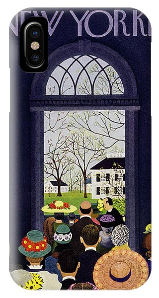 New Yorker April 9 1955 IPhone Case