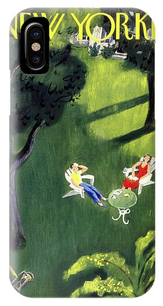 New Yorker August 12 1950 IPhone Case