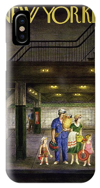 New Yorker August 13 1949 IPhone Case