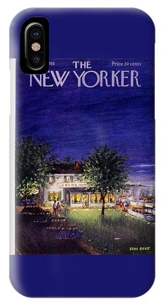 New Yorker August 13 1955 IPhone Case