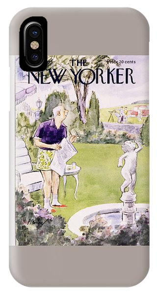 New Yorker August 20 1955 IPhone Case