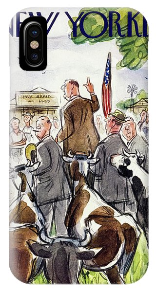 New Yorker August 23 1952 IPhone Case