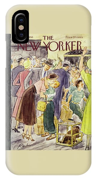 New Yorker August 26 1950 IPhone Case