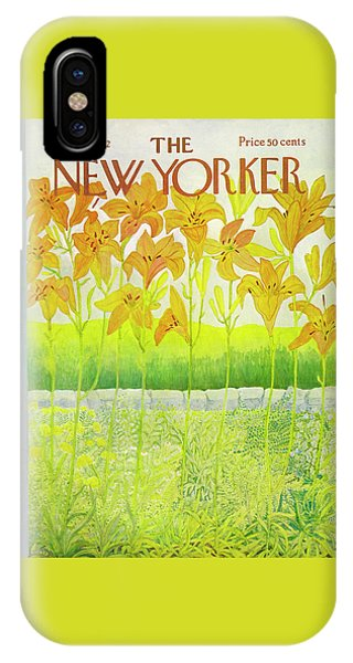 New Yorker Cover August 26 1972  IPhone Case
