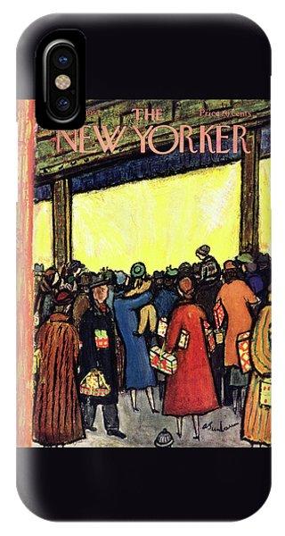 New Yorker December 12 1953 IPhone Case
