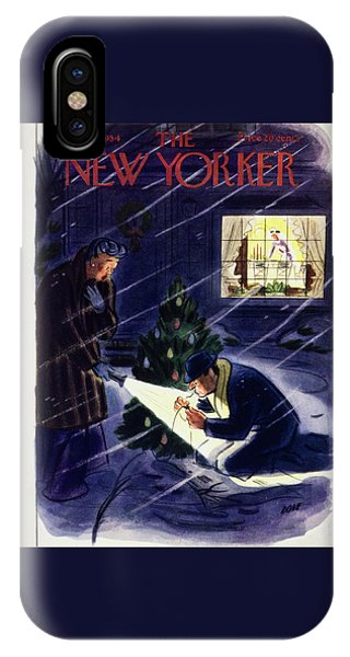 New Yorker December 18 1954 IPhone Case
